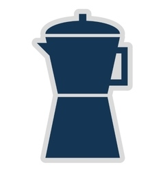 kettle isolated icon design vector image