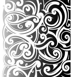 Maori styleornament vector