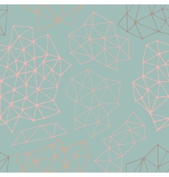 seamless pattern with outline geometrical vector image