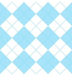 Blue white diamond background vector