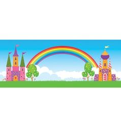 Fairy kingdom vector image vector image