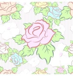 seamless pattern consisting of flowers vector image vector image