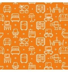 Furniture Background Pattern vector image