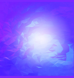 Abstract purple mystical futuristic art vector
