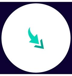 Arrow computer symbol vector