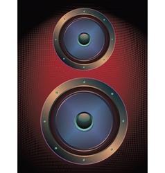 Audio Speaker Icon3 vector image vector image