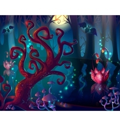 Cartoon wood game design vector