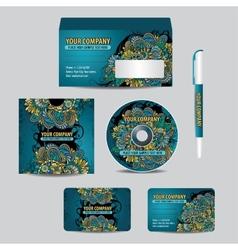 Corporate Identity set vector image