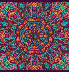Mandala pattern design vector