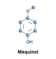 Mequinol ingredient skin drugs vector