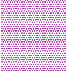 purple heart shape pattern vector image