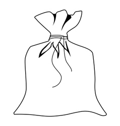 sack vector image