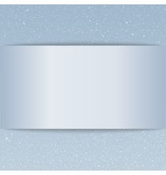Snow falling on blue background Empty card vector