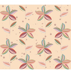 Floral Abstract Background pattern vector image