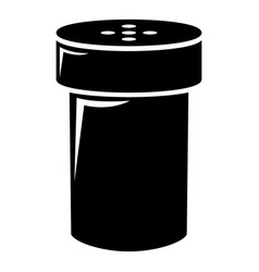 salt shaker icon simple style vector image vector image