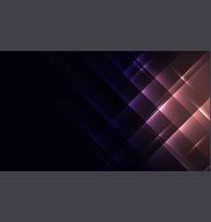 Abstract shiny glowing diagonal lines background vector