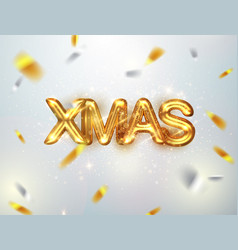 golden text xmas background translation the vector image
