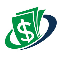 Logo for financial management vector
