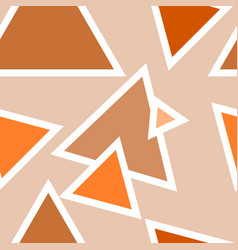 orange yellow and brown and golden pattern vector image