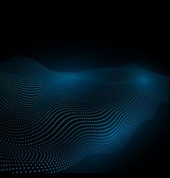 technology background warp surface matter vector image