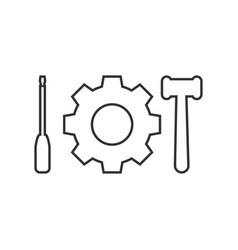 tools icon design template isolated vector image