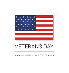 veterans day celebration national american holiday vector image