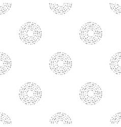 interlocking circles repeat tile pattern vector image