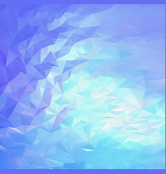 light blue pink abstract triangular background vector image vector image