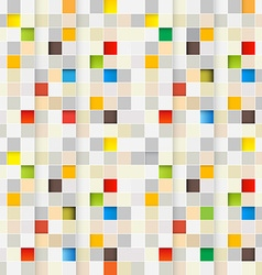Square Background Seamless Little Squares Pixel vector image