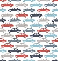 Car pattern3 vector image vector image