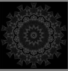 Decorative texture oriental geometric ornament vector
