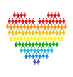 Lgbt gay lesbian vector