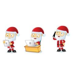 Santa 3 vector