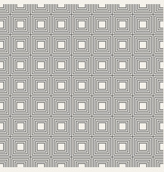 seamless pattern of linear squares vector image