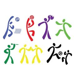 Sport disciplines vector