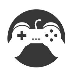 Video game control icon vector