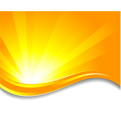 vector sunny background vector image vector image