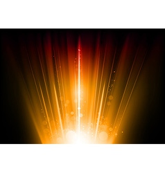 flare orange vector image