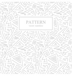 seamless geometric patterns in memphis style vector image vector image