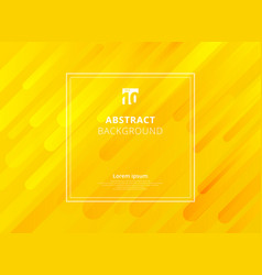 abstract yellow mustard geometric dynamic shapes vector image