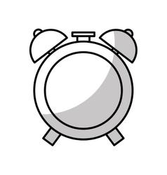 Alarm clock isolated icon vector