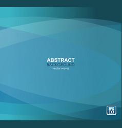elegant smooth blue business background vector image