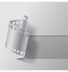 Film banner vector