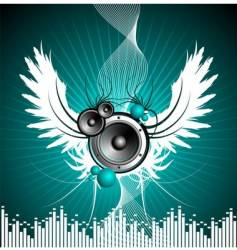 for musical theme vector image