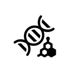 Genetics icon eps file vector
