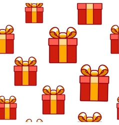 Gift background vector
