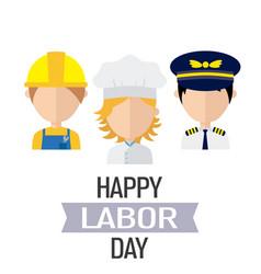 International labor day vector