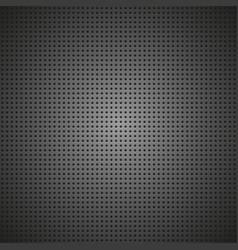 metal mesh stylish black background vector image