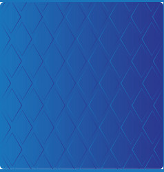 Stylish blue background in diamond-shaped vector