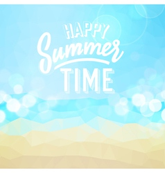 summer tropical holidays background vector image